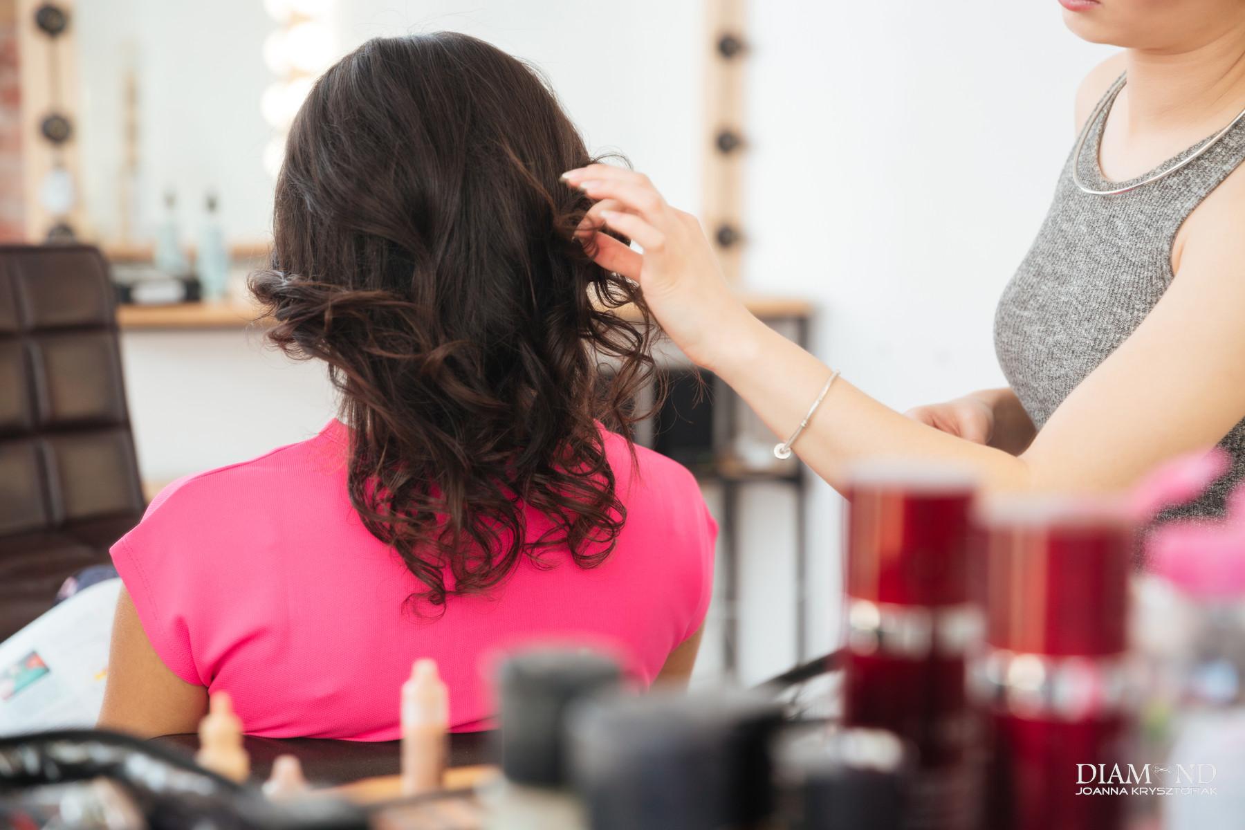 polerowanie włosów sochaczew fryzjer