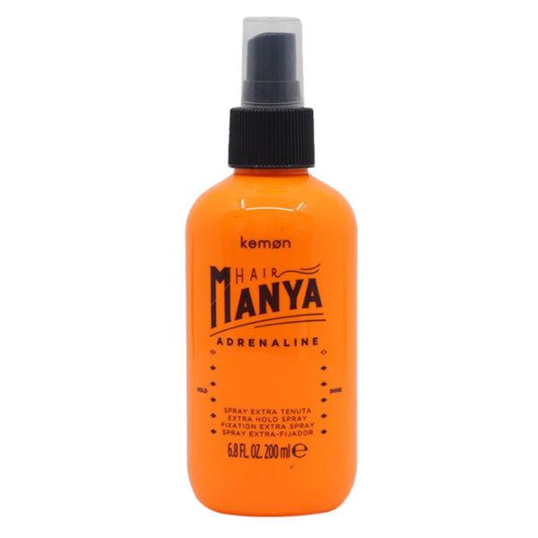 Spray do włosów zawierający żywice